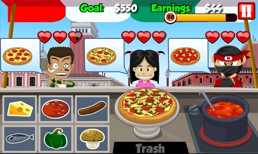 Pizza Stand: Fast Food Maker Android - Baixar Pizza Stand: Fast ...