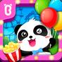 Bébé panda au carnaval