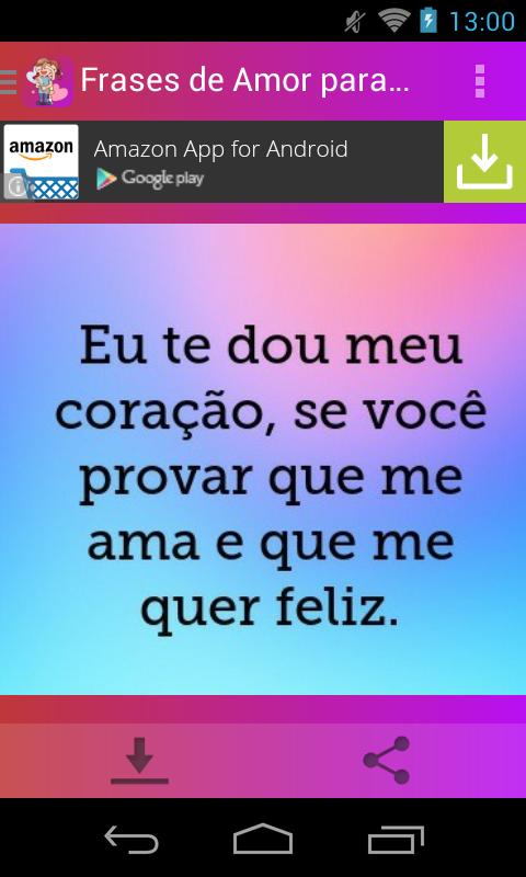 Baixar Frases De Amor Para Namorado 60 Para Android Download