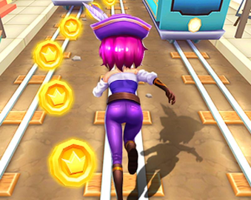 Subway run game free online