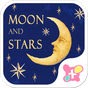 無料壁紙-月と星-かわいいきせかえ・アイコン